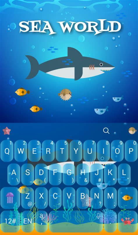 theme line v 5 sea world keyboard theme スマホ ライブ壁紙ギャラリー