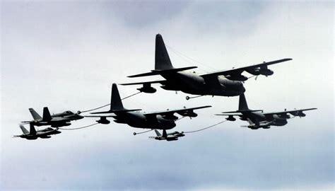 Kc Navy file kc 130s vmgr 152 refueling vfa 97 f 18cs 2006 jpg