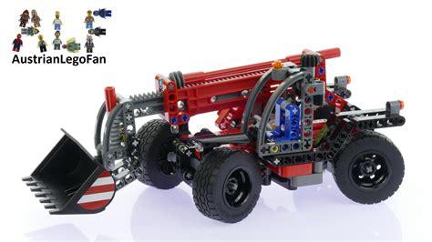 Lego 42061 Technic Telehandler lego technic 42061 telehandler lego speed build review