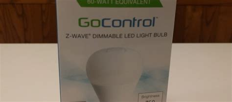 gocontrol z wave dimmable led light bulb gocontrol s smart light bulb in a smart home