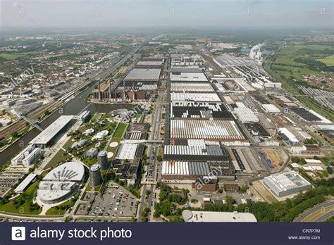 volkswagen factory germany aerial view volkswagen plant vw factory autostadt