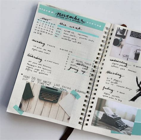 Home Design Ideas Do It Yourself by 20 Inspiring Ways To Use Your Bullet Journal Happy Body