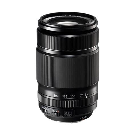 Lensa Fujifilm Xf jual fujifilm lensa xf 55 200mm f 3 5 4 8 r lm ois hitam harga kualitas terjamin