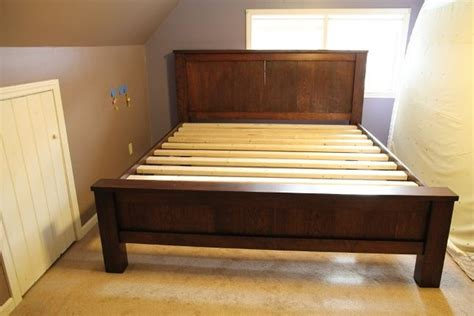 how to build bed frame plans pdf woodworking plans