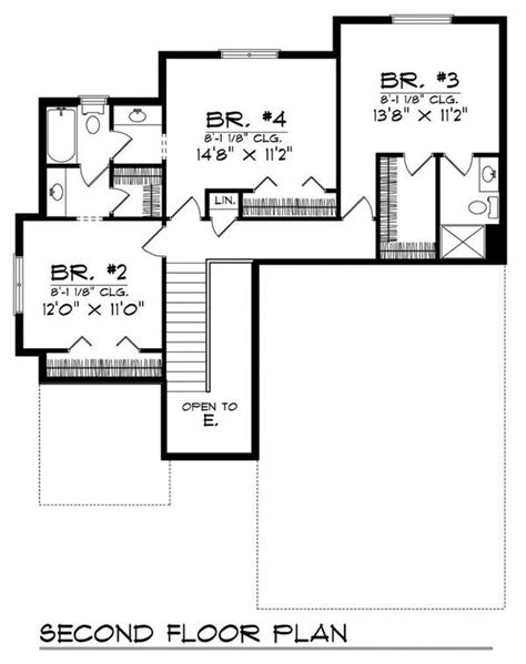 Ranch Home With 4 Bdrms 2114 Sq Ft Floor Plan 101 1700 1700 Square Foot House Plans Ranch
