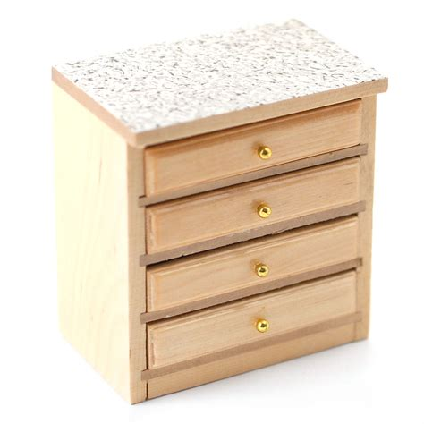 Drawer Unit Df841 Modern Pine Kitchen 4 Drawer Unit Minimum World