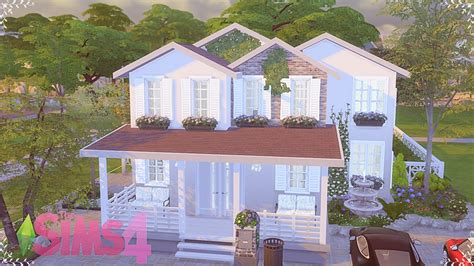 the comfort housing the sims 4 speed build comfortable house youtube
