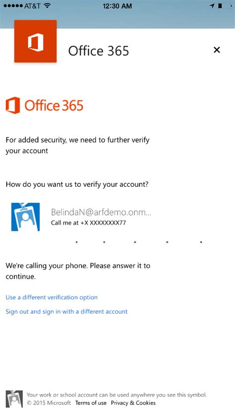 Office 365 Outlook User Guide New Access And Security Controls For Outlook For Ios And