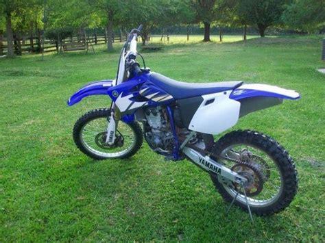 blue dirt bike 2005 yamaha yzf450 dirt bike blue white for sale in
