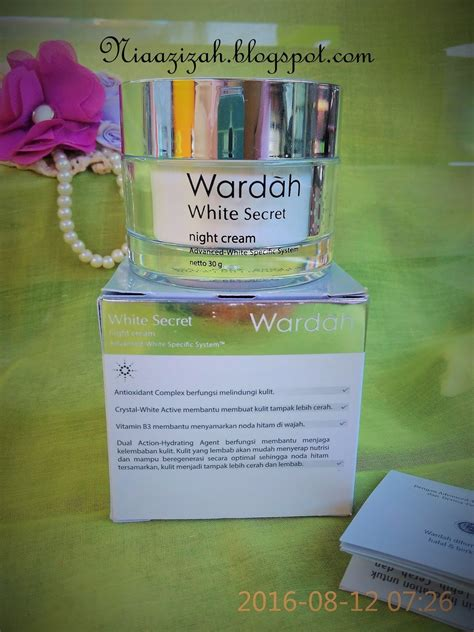 Harga Wardah White Secret Treatment Essence Cara Pakai nia azizah skin care routine by nia