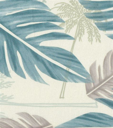 tropical fabric large palm leaf home decor fabric jo