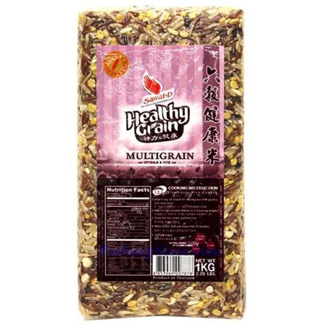 whole grains and ibs sawat d healthy grain multigrain 2 2 lbs
