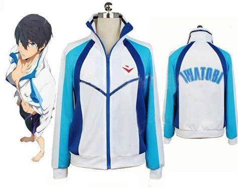 Hoodie Anime Club Navy Dealdo Merch casual free iwatobi swim club haruka nanase sport hoodie anime costume