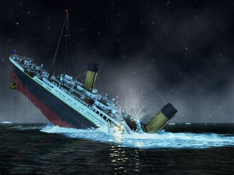 Titanic Sinking sinking of the titanic national geographic society