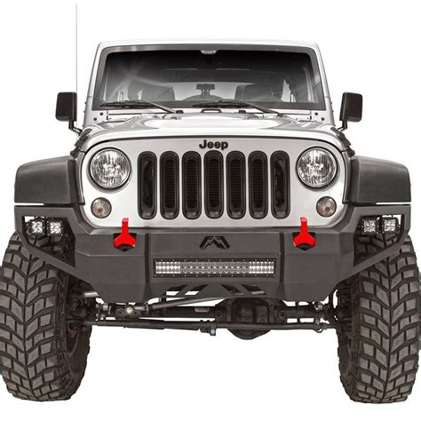 jeep bumpers fab fours 174 jeep wrangler 2007 vengeance width front