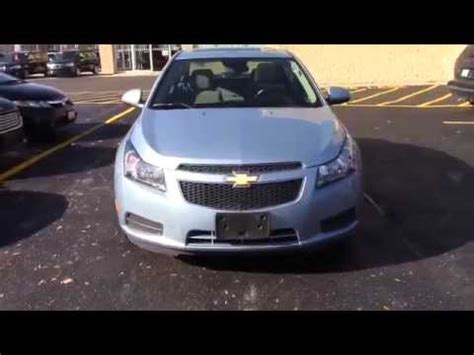 light blue chevy cruze used 2012 light blue chevrolet cruze lt turbo sunroof with