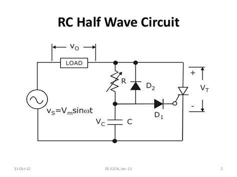 resistor firing circuit l11 rc triggering circuit