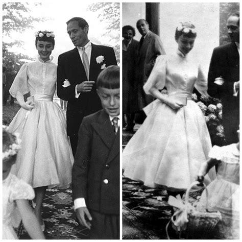 audrey hepburn designer audrey hepburn wedding dress photos ceremonies dress