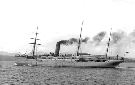 ship building ltd mail steamer dunvegan castle built by fairfield shipbuilding engineering co ltd in 1896 for