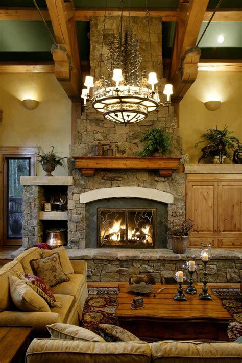 Log Home Fireplaces by Log Home Fireplace Home Decor