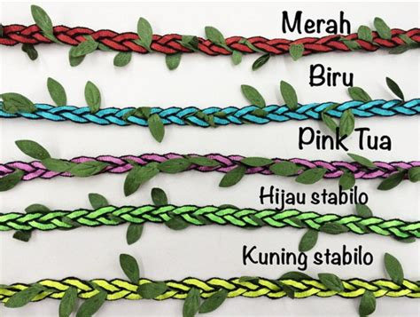 tali kepang daun central