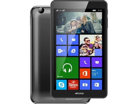 windows mobile tablet archos unveils new windows phone and windows 8 1 tablet
