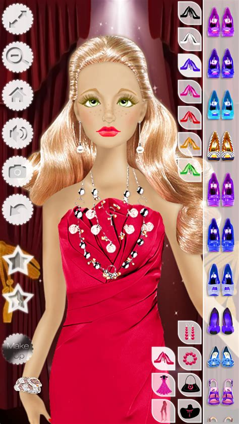 Makeup And Hairstyle Doll by Doll Makeup Hairstyle Dress Up Fashion Top Model