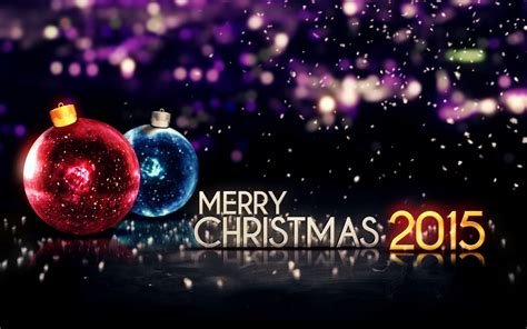 merry christmas 2015 sparkling lights photo 1280x800