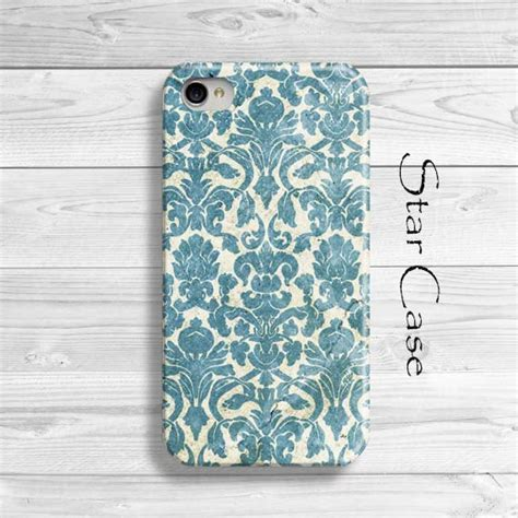 Iphone 4 4s Pastel Flower Lace Phone Cover Casing iphone 5 iphone 5s vintage damask iphone 4 by starcase
