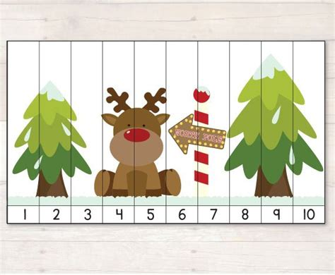 printable christmas number puzzles 17 best images about puzzles numeriques on pinterest