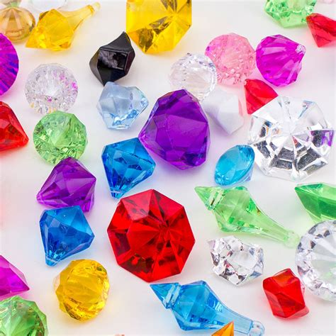 gems for table decorations confetti wedding table scatter decoration