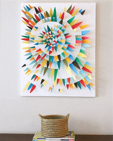 create  mural effect   wall art