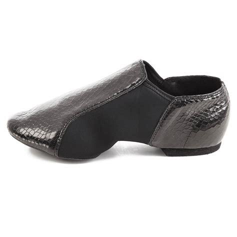 alexandra gator slip on jazz shoes ac8