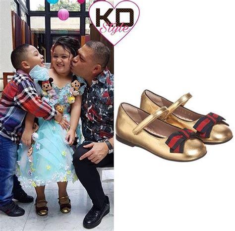 Sepatu Gucci Branded Murah Cantik Soc 11 wow sepatu anak krisdayanti harganya jutaan rupiah lho entertainment jpnn