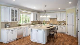 kitchen maple white raised panel kitchen cabinets