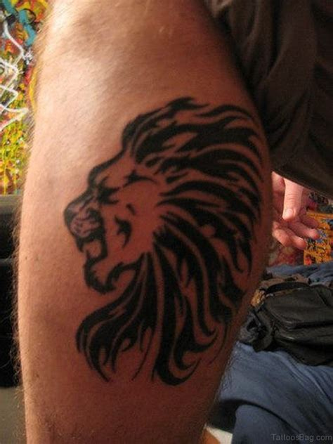lion tribal tattoos 36 looking tattoos for leg