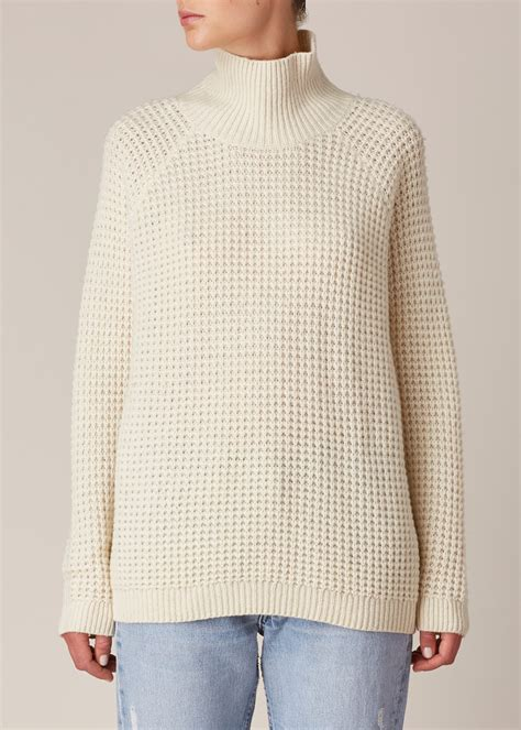 Sweater Marshmello won hundred marshmallow inguna sweater in beige marshmallow lyst