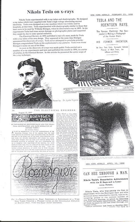 Tesla X Rays Tesla Posters