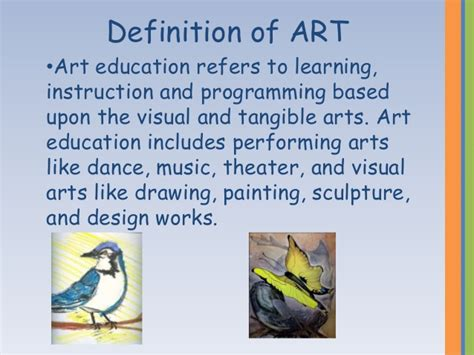 arts education why is it important arts to grow what is art application of art