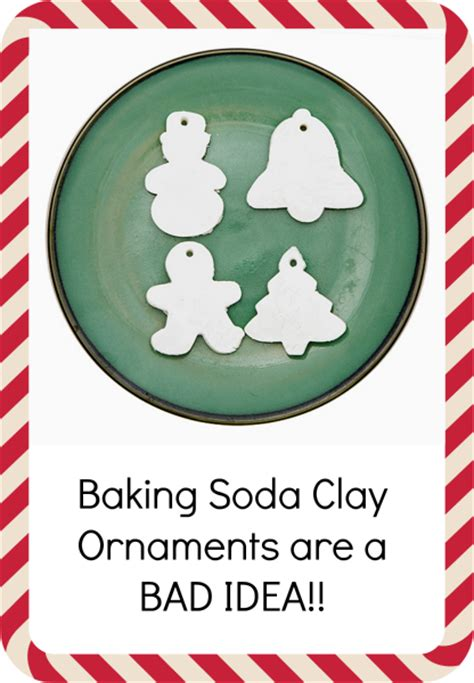 homemade baking soda clay ornaments review   work