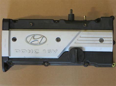 2003 hyundai accent valve cover sell 01 05 hyundai accent 1 6 dohc valve cover oem 123
