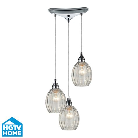 Three Light Pendant Elk Lighting 46017 3 Danica 3 Light Multi Pendant Ceiling Fixture