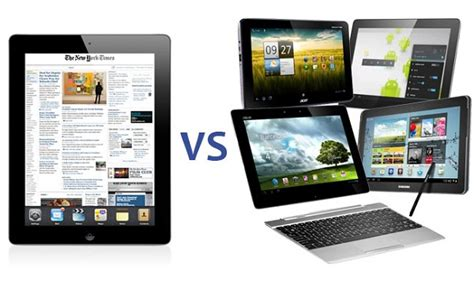 vs android tablet apple s product strategy the new generation launch
