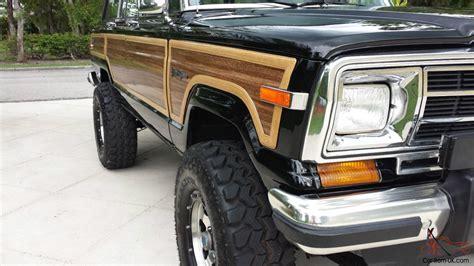 classic jeep wagoneer lifted 1989 jeep grand wagoneer 360 4x4 lifted amazing eye