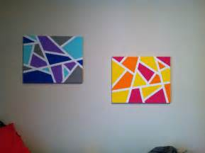 30 creative and easy diy canvas wall ideas