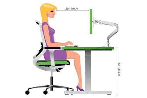 kantoorstoel op maat bureaustoel instellen juiste zithouding