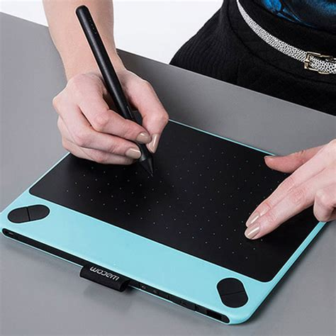 Wacom Intuos Pen N Touch Mint Blue Cth690 For Digital Imaging wacom has sized its intuos comic tablet creative bloq