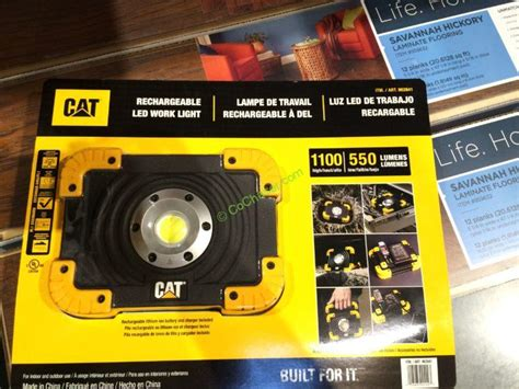 cat rechargeable led work light costco costco 962841 cat led worklight rechargeable part1