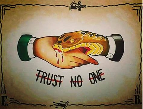 trust no one tattoo designs 77 best tattoos images on ideas cool