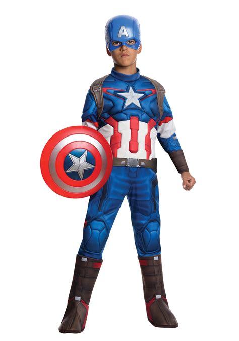 Costum Captain America child 2 deluxe captain america costume